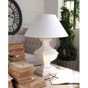 Lampa stołowa Shabby White, 60 cm