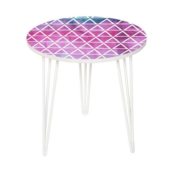 Zestaw 2 stolików Pink And Blue, 35 cm + 49 cm