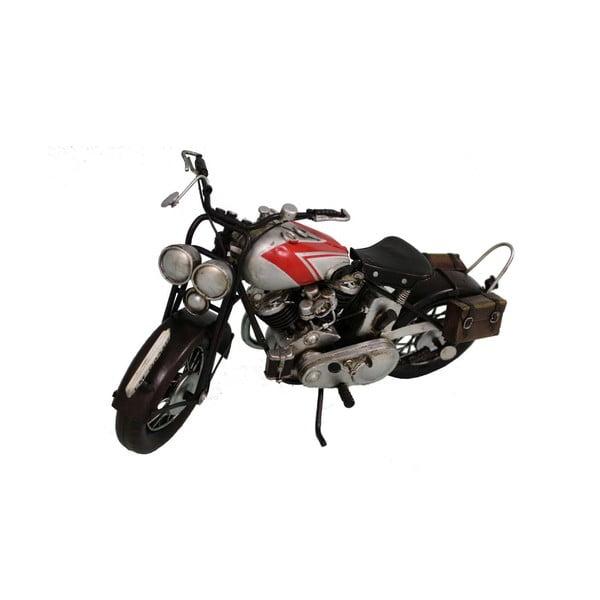 Motor dekoracyjny Antic Line Motorcycle Silver