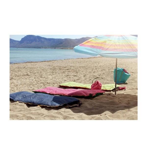 Przenośny leżak + torba Hhooboz 150x62 cm, różowy