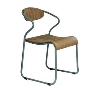 Krzesło z szarymi nogami Red Cartel Walter