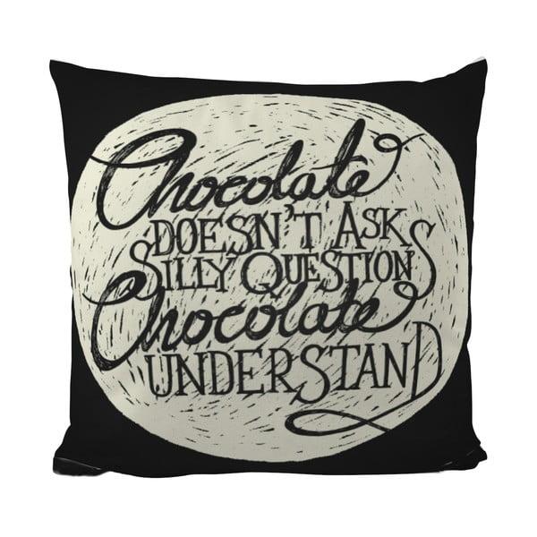 Poduszka Black Shake Choco Love, 40x40 cm