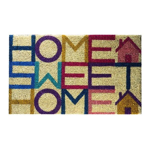Wycieraczka włókien kokosowych Felpudo Sweet Home, 40x70 cm