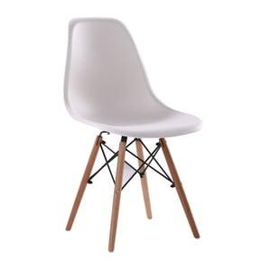 Białe krzesło Clio Puro
