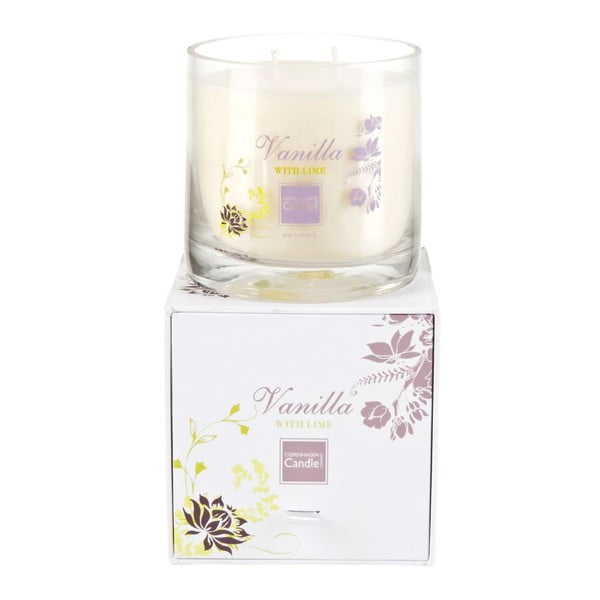 Świeczka zapachowa Vanilla & Lime Medium, czas palenia 50 godzin