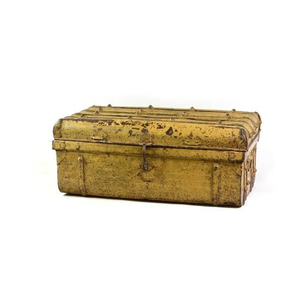 Skrzynia Orient 40x69 cm, żółta