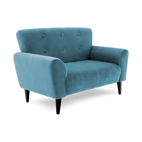 Niebieska sofa dwuosobowa Vivonita Klara