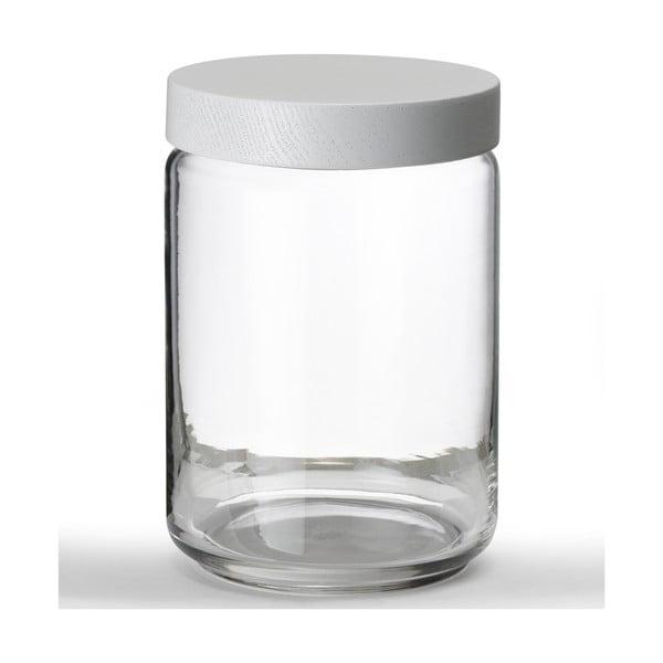 Szklany pojemnik Line Collection, 22 cm