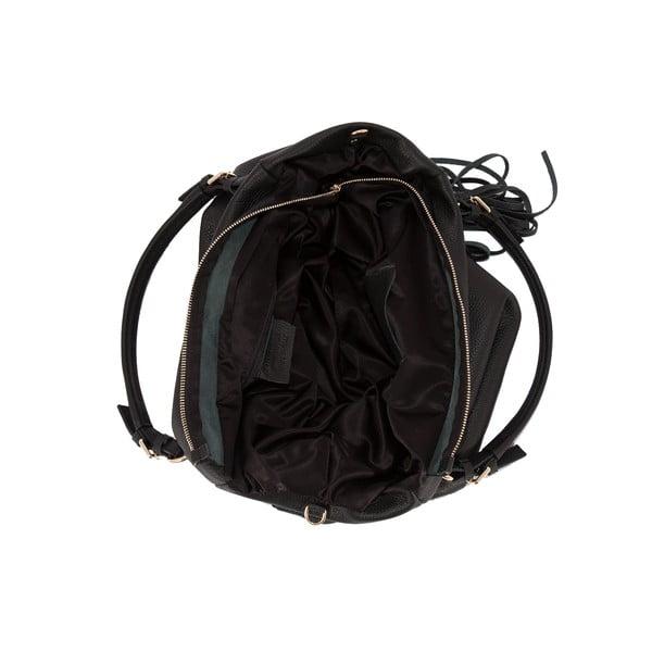 Czarna torebka skórzana Andrea Cardone Star