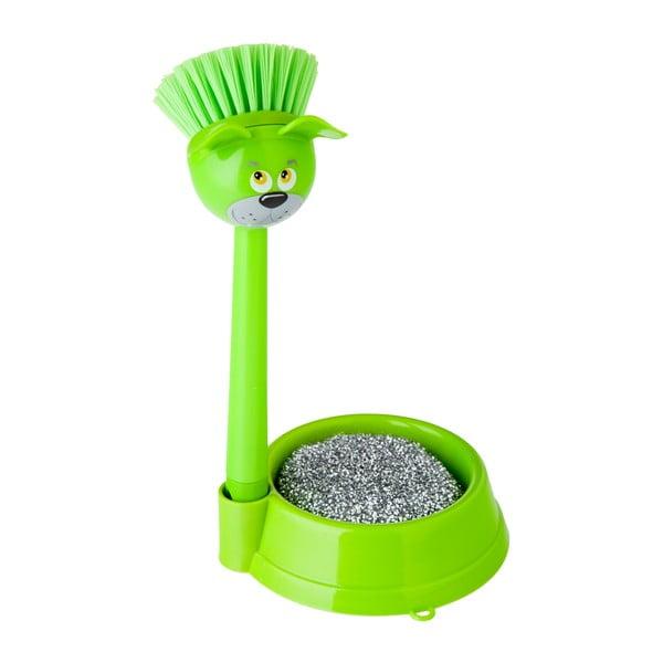 Zielony komplet do mycia naczyń Vigar Dog