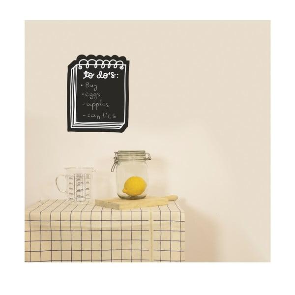 Naklejana tablica do pisania To Do's, 28x31 cm