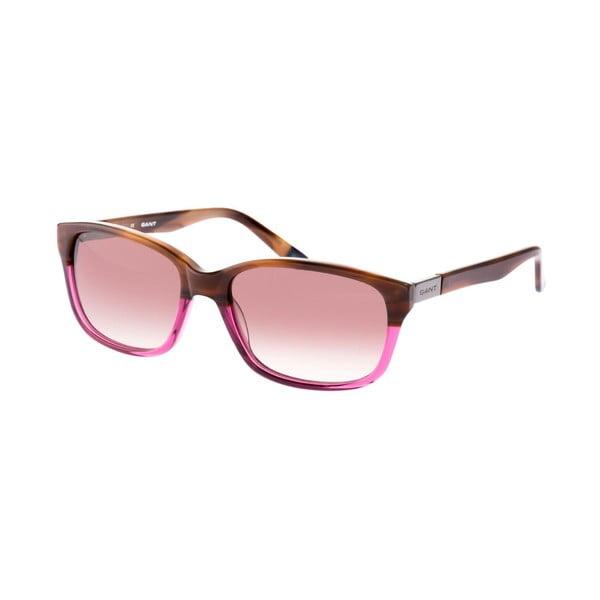 Damskie okulary przeciwsłoneczne GANT Brown Violet