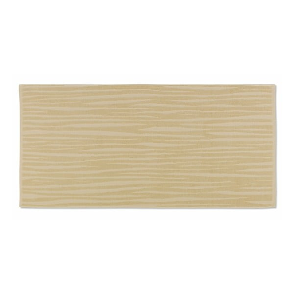 Żółty ręcznik Kela Lindano, 70x140 cm