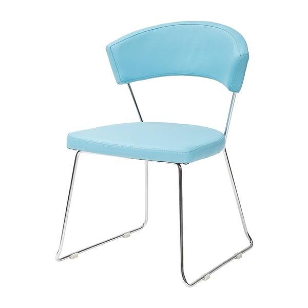 Krzesło Bacco, niebieskie