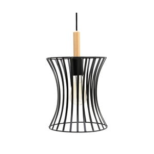 Czarna lampa wisząca InArt Afonso