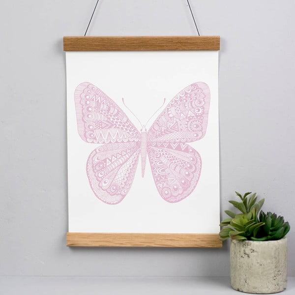 Plakat Karin Åkesson Design Butterfly Pink, 30x40 cm