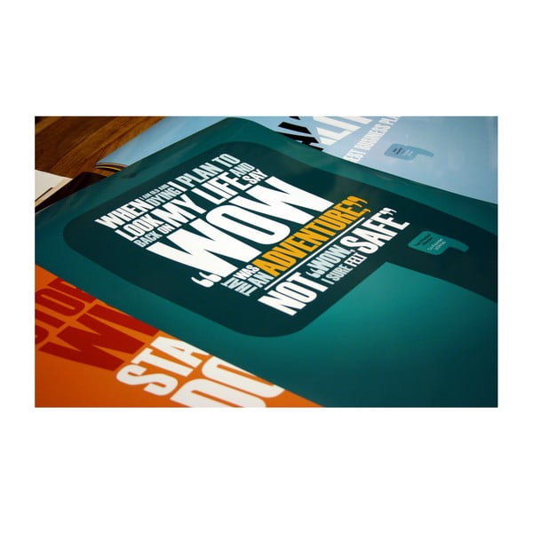 Plakat Quality is the best business plan, 70x50 cm