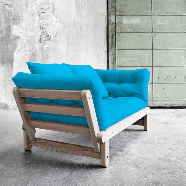 Sofa rozkładana Beat Beech/Horizon Blue