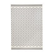 Czarno-biały dywan Hanse Home Cubic, 70x140 cm
