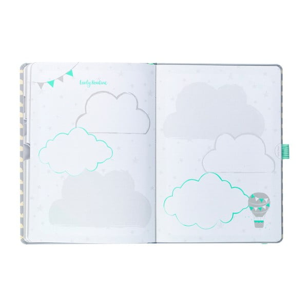 Pamiętnik ciążowy Busy B Pregnancy Journal
