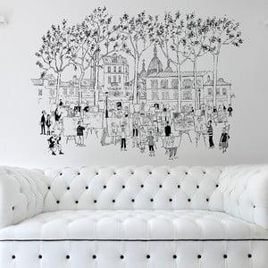 Naklejka Montmarte, 110x142 cm