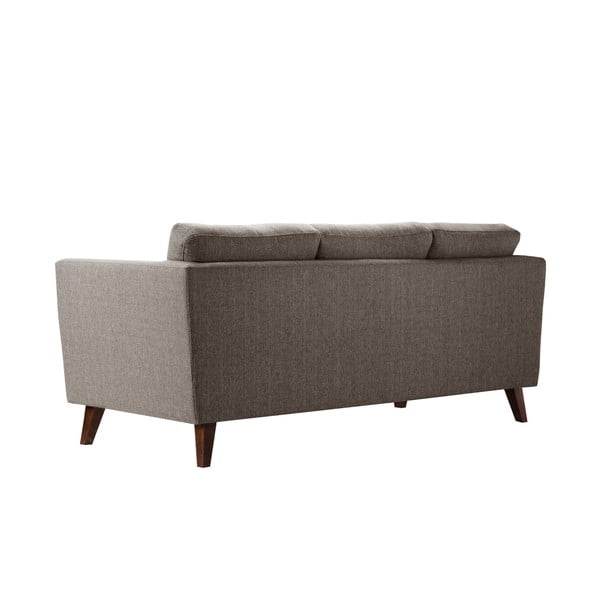 Orzechowa sofa 3-osobowa Jalouse Maison Elisa