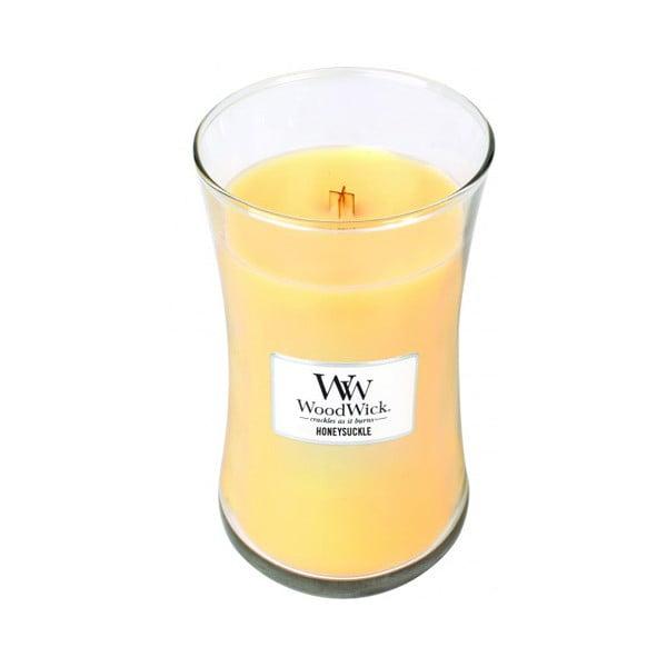 Świeczka zapachowa WoodWick Wiciokrzew i jaśmin, 609g