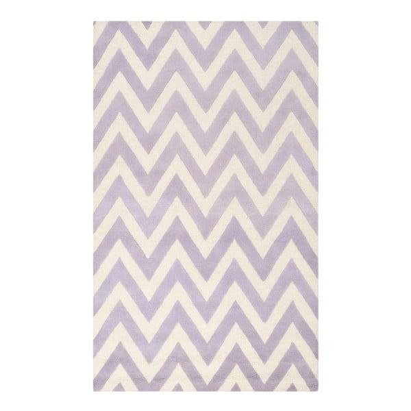 Dywan wełniany Stella Light Purple, 182x274 cm