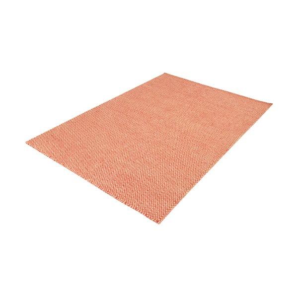 Ręcznie tkany dywan Orange Zigzag Kilim, 160x230 cm