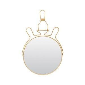 Złote lusterko kosmetyczne Meraki, ⌀ 20 cm
