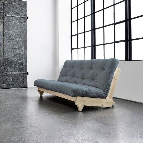 Sofa rozkładana Karup Fresh Natural/Gris