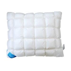 Biała poduszka z nanowłóknami Life Honeycomb Green Future, 50x70cm