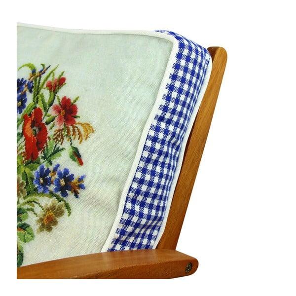 Poduszka na krzesło z wypełnieniem Gilbert, 42x42 cm