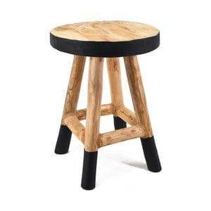 Drewniany taboret Moycor Marsella