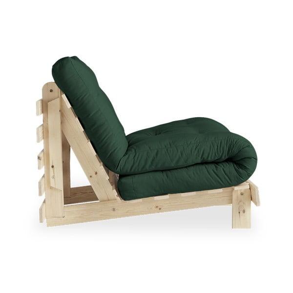 Fotel rozkładany Karup Design Roots Raw/Botella