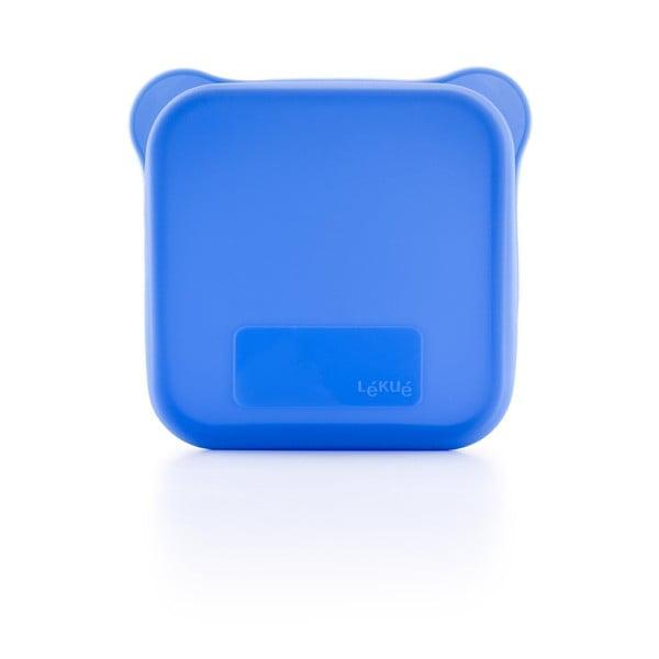 Etui na kanapkę, niebieskie