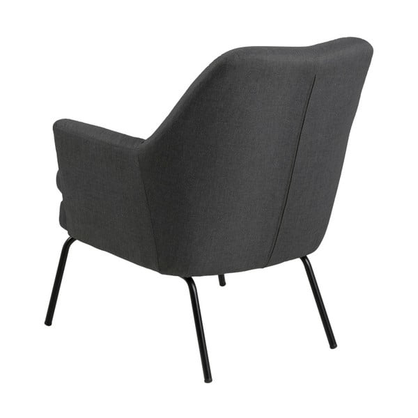 Ciemnoszary fotel Actona Chisa