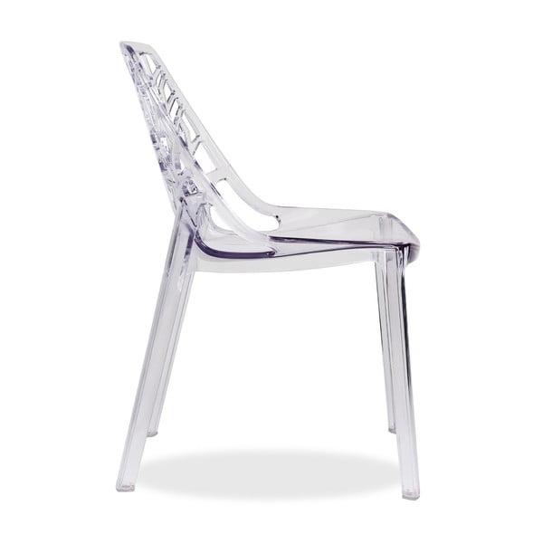 Krzesło Polycarbonate White