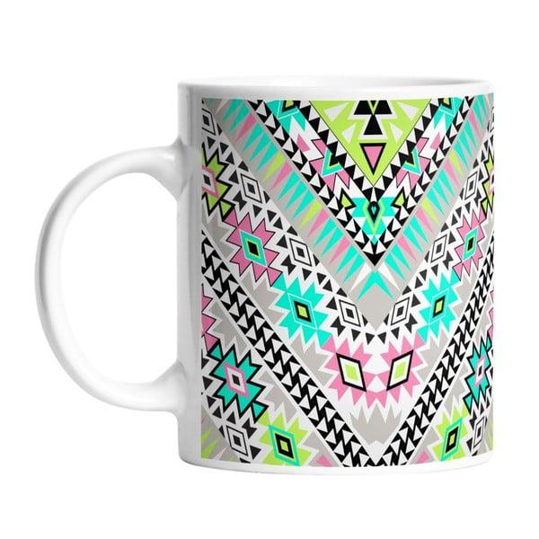 Ceramiczny kubek Pastel Tribal, 330 ml