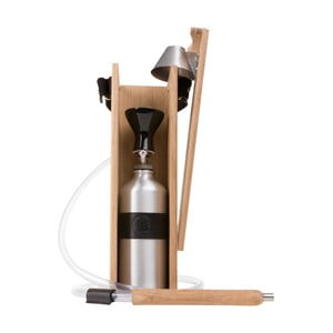 Designerska fajka wodna Hekkpipe Deluxe, czarna