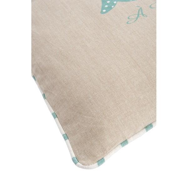 Poduszka Mer Blue, 40x40 cm