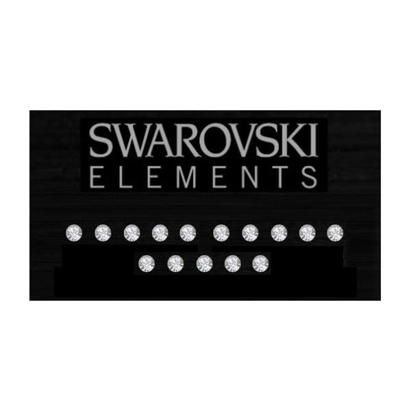 Zestaw 15 elektrostatycznych kryształków Swarovski Fanastick Crystal