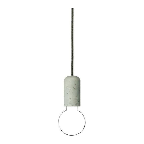 Lampa Jakuba Velínskiego - ciemnoszare włókno włókno, 1,2 m