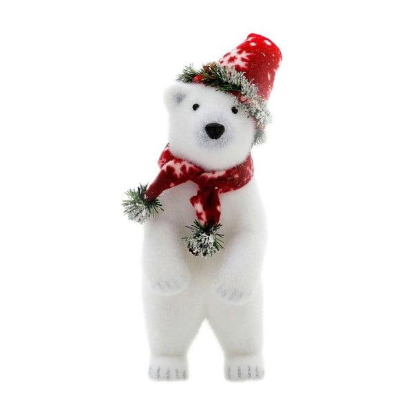 Dekoracja Polar Bear, 35 cm