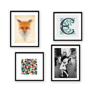 Zestaw 4 obrazów Really Nice Things Mix Match