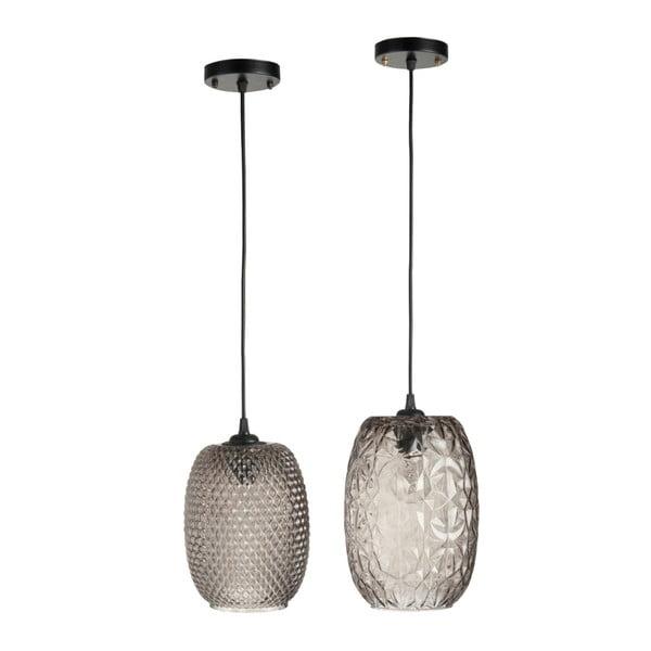 Zestaw 2 lamp wiszących Aubergine