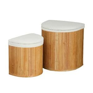 Zestaw 2 koszy na pranie Bamboo I