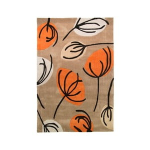 Dywan Fifties Floral Orange, 120x170 cm