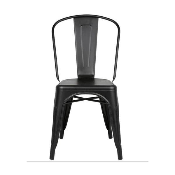 Krzesło Silla Metal Negra