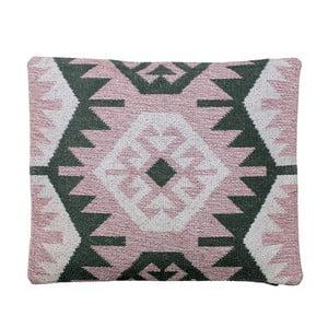 Poduszka z wypełnieniem Kelim Rose, 50x60 cm
